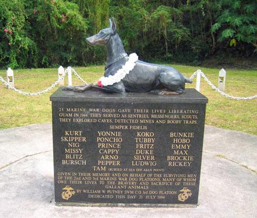 Doberman War Dog Memorial