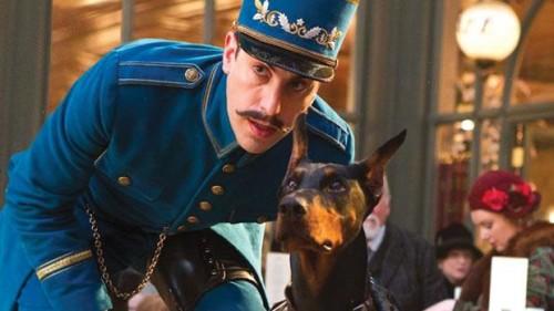 doberman movie dog from Hugo