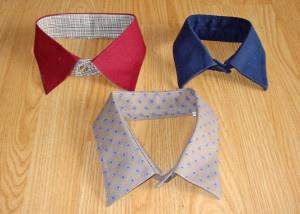 easy dog shirt collars to make