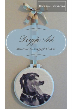 custom dog crafts for adults wall hanging