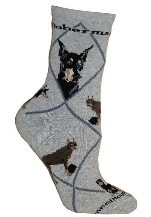 doberman socks for Christmas