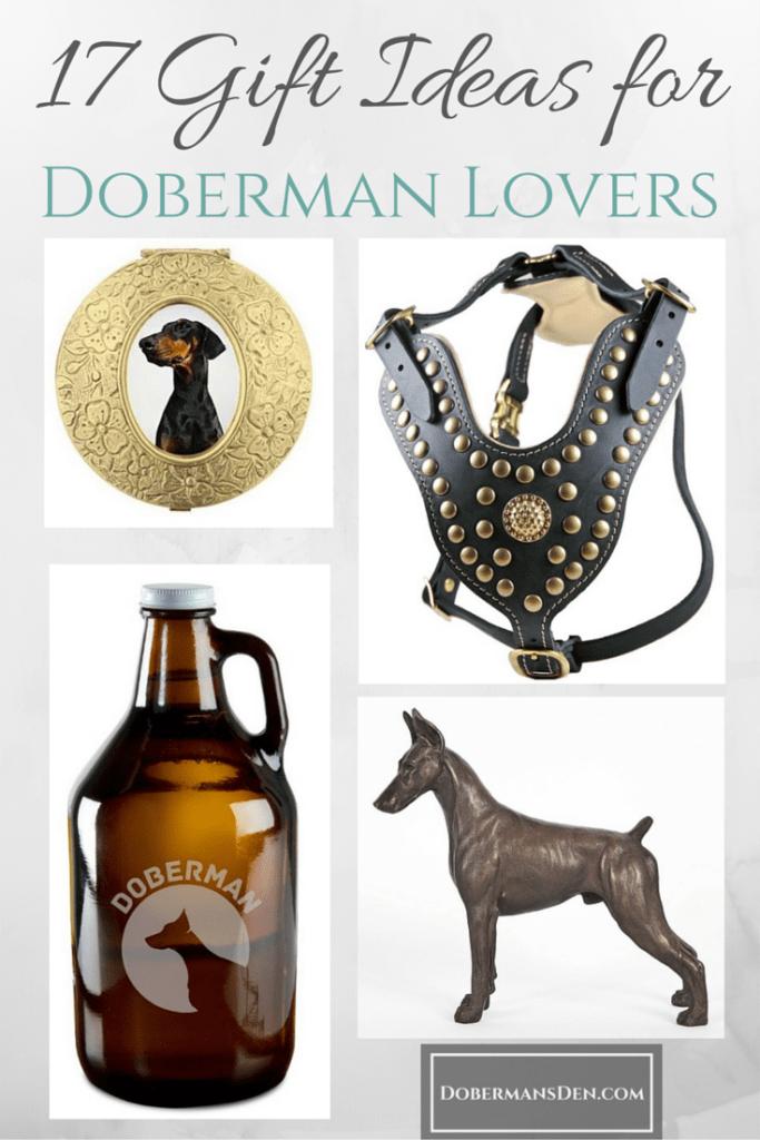 doberman gift ideas for guys or girls